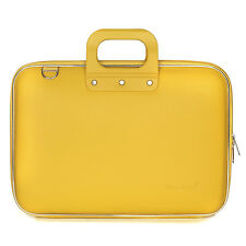 "Bombata - Yellow Classic 15"" Laptop Case/Bag with Matching Shoulder Strap"