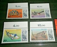 FRANCOBOLLI GERMANIA BERLINO 1977 LOTTO PESCI SERIE NUOVA MNH** SET (C.7)