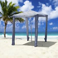 Portable Beach Cabana Tent Sun Shelter 180cm UPF50 Carry Bag Park Outdoor