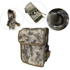 Metal Detector Camoflage Bag Finds Pouch w/ Shoulder Strap for Metal Detecting