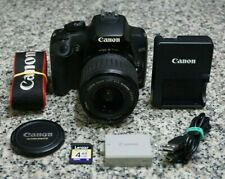 Canon EOS Rebel XS 10.1MP DSLR Camera W/ 18-55mm Lens, Extras 16K Clicks Tested
