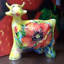 Cow  Turov Art, Turov Ceramics statuette, figurine, Russia