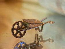 Vintage 50's Sterling Moveable Hay Wagon Charm For Charm Bracelet  Sweet 51jn7