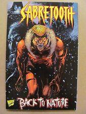 Sabretooth Back To Nature #1 Marvel Comics 1998 One Shot 9.4 Near Mint