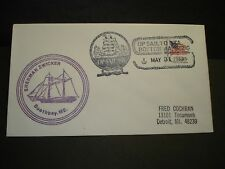 Sailing Ship SHERMAN ZWICKER, Boothbay, Maine Naval Cover 1980 Cachet