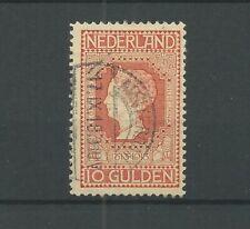 Nederland  101 Wilhelmina 10Gld  VFU/gebr CV 900 €  PRACHT !!