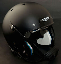 Schutt AiR XP Football Helmet ADULT LARGE (Color: MATTE BLACK) *NEW*