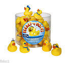 Kingsley KK-BUCKET OF RUBBER DUCKS, BATH TIME,  4-PACK