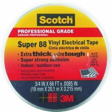 "100 Pk 3M 3/4"" X 66' X .0085"" Thick Scotch Vinyl Plastic Electrical Tape 06143"