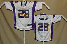 ADRIAN PETERSON  Minnesota Vikings   REEBOK Equip  JERSEY  Youth XL   NwT  w