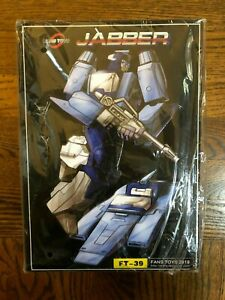 Transformers Fans Toys Fanstoys FT-39 Jabber Masterpiece Blurr New Sealed!!!