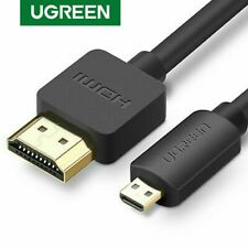 Ugreen Micro HDMI to HDMI Cable 2m 3m 3D 4K Male-Male HDMI Adapter for Phone