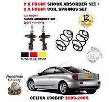 pour Toyota Celica 190BHP 1999- > 2x AMORTISSEUR AVANT SHOCKER + 2x