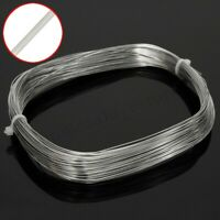 30M x 0.6mm 304 Stainless Steel Bright Single Soft Flexible Wire Cable Rope HOT