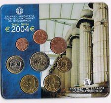 GREECE GRIEKENLAND 2004 EURO COIN SET BU