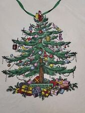 "SPODE AVANTI LINENS CHRISTMAS TREE 80"" X 60"" TABLECLOTH"