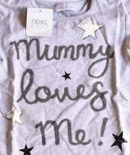 BABY 9 - 12 MONTHS NEXT 'MUMMY LOVES ME' TOP NEW WITH TAG