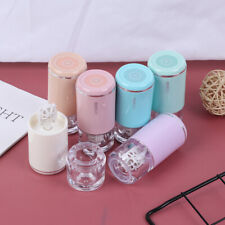 Automatic Contact Lens Cleaner Case Box Manual Rotation Washer Cleaning Trave BD