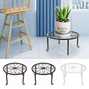 Metal Plant Pot Stand Flower Display Shelf Garden Balcony Outdoor Indoor UK