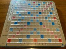 Scrabble Deluxe REPLACEMENT BOARD ONLY Rotating Turntable Raised Vintage