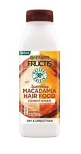 Garnier Fructis Conditioner Macadamia Smoothing Dry and Unruly Hair Vegan 350 ml
