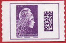 Marianne l'Engagée, type Datamatrix International, provenant planche