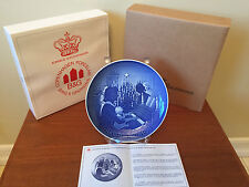 NEW 1971 B&G Bing and Grondahl Christmas Plate Direct From Factory Mint In Box
