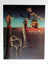 Dali Head of Roses Plate Signed Poster