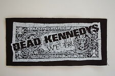 "Dead Kennedys Cloth Patch Sew On Badge Punk Rock Music Approx. 6.5""X3"" (CP8)"