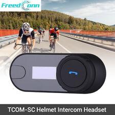 TCOM-SC FM Radio Bluetooth Motorrad Helm Intercom Headset Unterstützung A2DP
