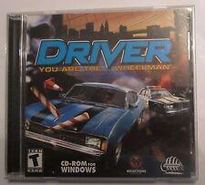 Driver You Are The Wheelman Microsoft Windows 2002 PC Video Game