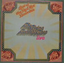 "THE FLYING BURRITO BROS - LIVE - LAST OF THE RED HOT BURRITOS  12""  LP (M658)"
