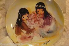 "De Grazia ""Spring Blossom"" 1987, Children of the Sun Porcelain Collector Plate"