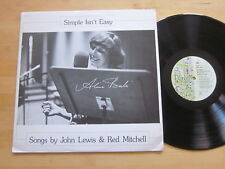 Alice Babs - Simple Isn't Easy LP Bluebell Sweden Rare Jazz Vocals Red Mitchell