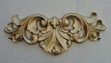 Türbogen Relief Bild Wandrelief Wandbild Ornament Barock Wanddeko Stuck Gold
