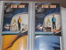 Star Trek Capt James T Kirk & Dr McCoy Decor Removable Wall Decal New Old Stock