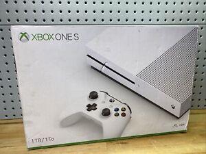 Microsoft Xbox One S 1TB Console Bundle - White ✅ New ✅ Sealed ✅ 🎮