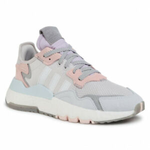 adidas Originals Nite Jogger W Women Lifestyle Sneakers New Grey Pink FV1328