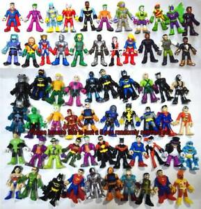 Lot of 5 Fisher Price Imaginext Random Select DC Super Hero Loose Action Figure