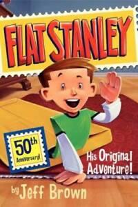 Flat Stanley: His Original Adventure! - Paperback By Brown, Jeff - GOOD