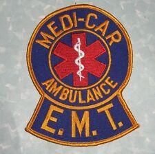 "Medi-Car Ambulance E.M.T. Patch - Paramedic - 3 7/8"" x 5"""
