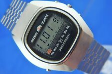 Orient LCD Digital Watch Vintage Swiss Gents Retro New Old Stock 1970s Cal 61100