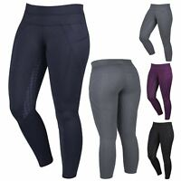 Dublin Performance Ladies Equine Silicon Full Seat Horse Riding Thermal Tights