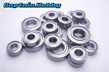 Metal Ball Bearing Set For TAMIYA TT-01 & TT-01D & TT-01R & DF02 (16pcs) Ryu