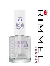 Rimmel London Nail Nurse Base Top Coat 5 in 1 Transparent 12ml