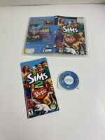 Sims 2: Pets (Sony PSP 2006) COMPLETE TEEN FAST SHIPPING EA SIMULATION  TESTED
