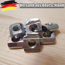 5x Nutensteine Nut 6  Profiel mit Steg, Schrauben M5, NEU 3D Drucker CNC L0028