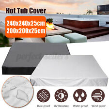 More details for hot tub spa cover cap waterproof dust protector harsh weather guard outdoo ·
