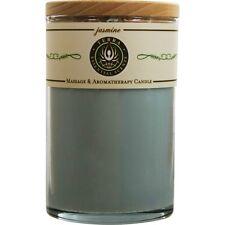 Jasmine & Ylang Ylang Massage & Aromatherapy Soy Candle 12 oz Tumbler. A Soothin