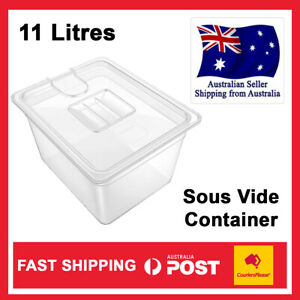 Sous Vide Container Steak Machine Container with 11L Lid Water Tank Bath